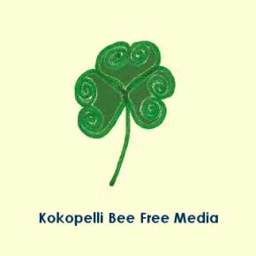 Kokopelli Bee Free Media Logo_Schrift © Stefanie Neumann - All Rights Reserved.